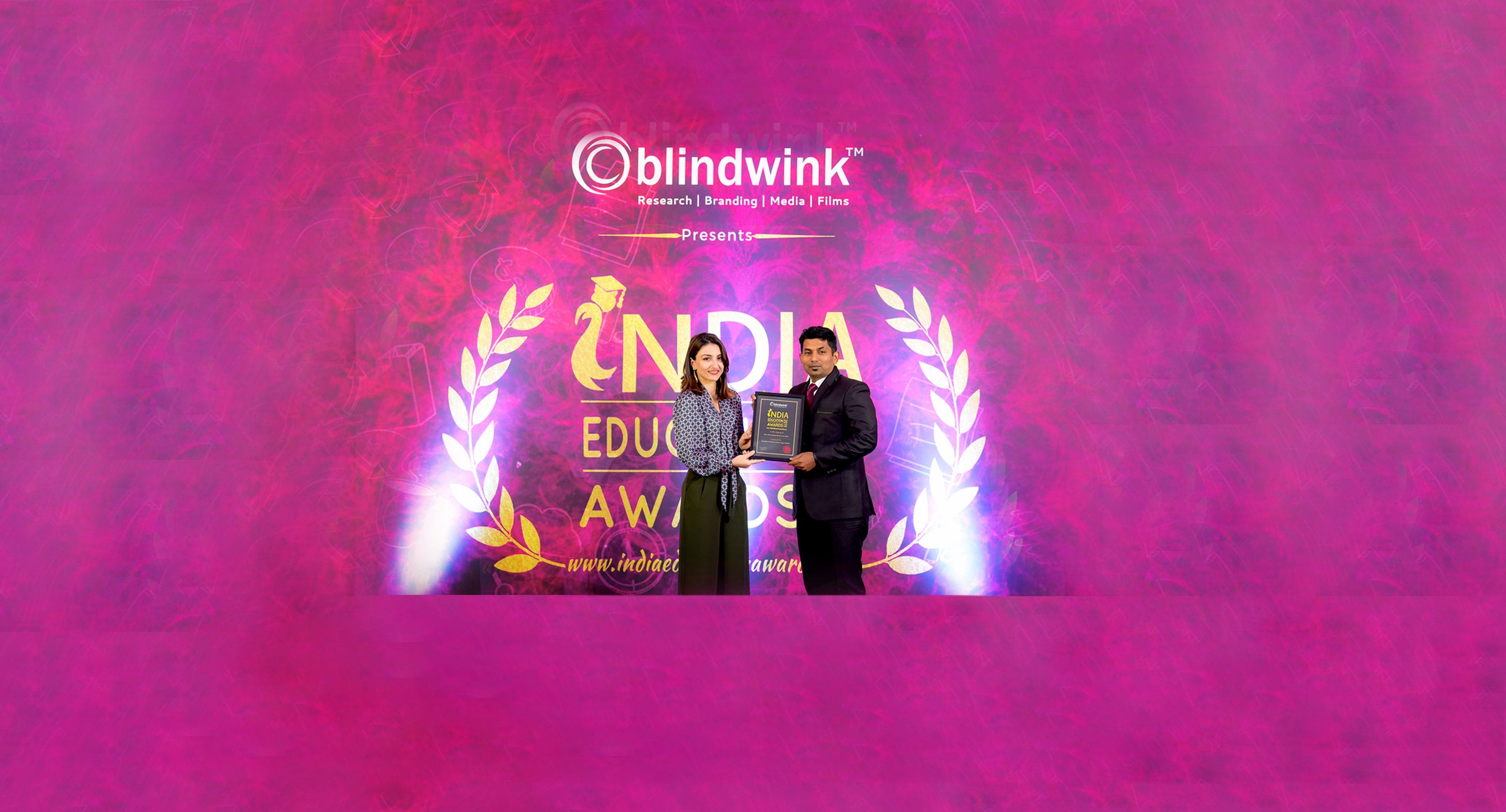 education award cover
